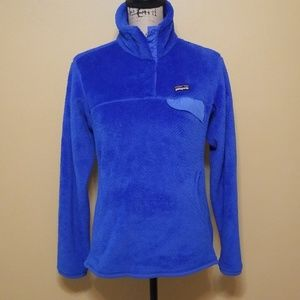 Womens Patagonia Rtool snap t pullover sz med euc